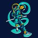 Astronaut Katana Pose - GraphicRiver Item for Sale