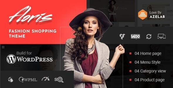Floris — Fashion Shopping WordPress Theme