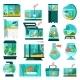 Aquarium Fish and Accessories Wildlife at Home - GraphicRiver Item for Sale