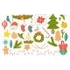 Festive Decorative Symbols Set Christmas Elements - GraphicRiver Item for Sale