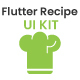 Flutter Recipe App UI KIT Template - CodeCanyon Item for Sale