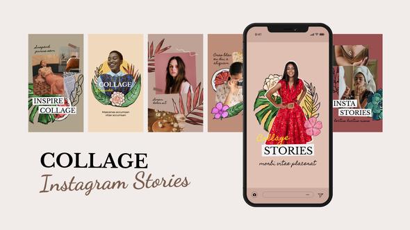 Collage Fashion Instagram Stories