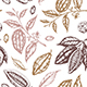 Vintage Seamless Pattern with Cocoa Beans - GraphicRiver Item for Sale