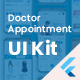 Doctor Appointment, (Doctors, Clinics, Diagnostics, Booking) Flutter UI Template - CodeCanyon Item for Sale