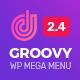 Groovy Mega Menu - Responsive Mega Menu Plugin for WordPress - CodeCanyon Item for Sale
