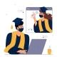 Online  Virtual Graduation Ceremony  - GraphicRiver Item for Sale