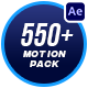 Motion Graphics Pack // 550+ Animations Pack - VideoHive Item for Sale