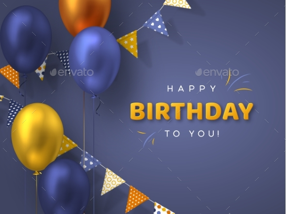 Happy Birthday Holiday Design