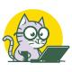 Cat Logo - GraphicRiver Item for Sale