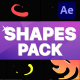 Liquid Shapes Pack | After Effects - VideoHive Item for Sale