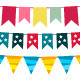 Vector bunting collection  - GraphicRiver Item for Sale