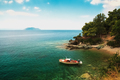 Boat in the bay - PhotoDune Item for Sale
