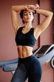 slim athletic woman torso abs belly wearing sportswear. slimming and diet - PhotoDune Item for Sale