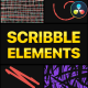 Scribble Elements | DaVinci Resolve - VideoHive Item for Sale