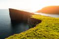 Incredible view of Sorvagsvatn lake - PhotoDune Item for Sale