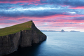 Incredible view on Vagar island in sunset time - PhotoDune Item for Sale