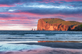 Incredible sunset in low tide time on Atlantic ocean coast - PhotoDune Item for Sale
