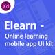 Elearn - Online Learning Mobile App UI Kit - ThemeForest Item for Sale