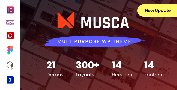 Musca - Multipurpose WordPress theme