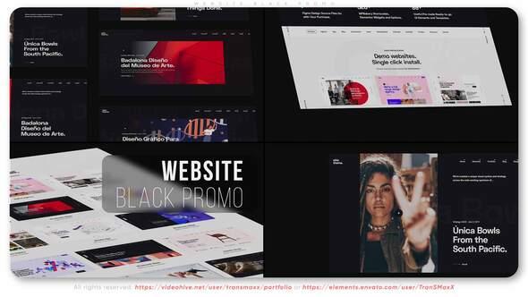 Website Black Promo