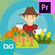 Agriculture Animation | Premiere Pro MOGRT