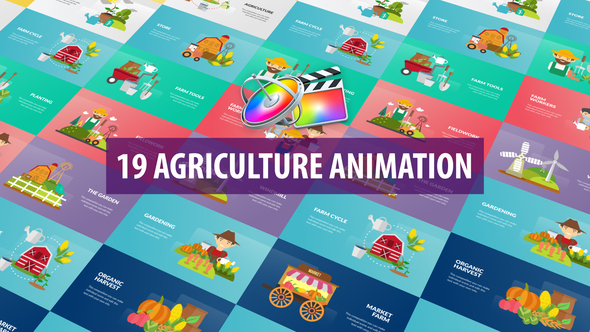 Agriculture Animation - Apple Motion & FCPX