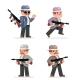 Retro Gangster Mafia Set Dangerous Criminal - GraphicRiver Item for Sale