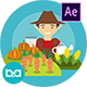 Agriculture Animation | After Effects - VideoHive Item for Sale