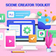 Modern 3d illustration on various topics - GraphicRiver Item for Sale