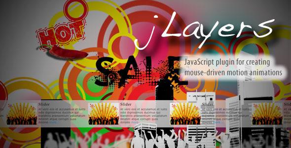 jLayers - Mouse Driven Animation Plugin