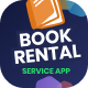 Bookish   Rent a Book - Mobile UI Screens Figma Template - ThemeForest Item for Sale