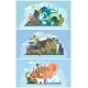Set of Illustrations on Theme of Environmental - GraphicRiver Item for Sale