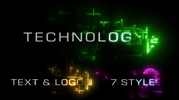Technology Reveal Pack (Logos & Titles)