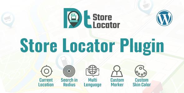 DT - Store Locator WordPress Plugin