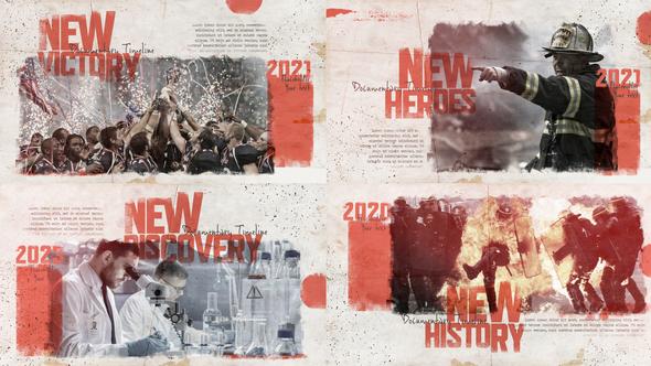 New History - Documentary Timeline