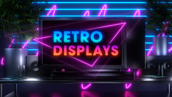 80s Retro Displays