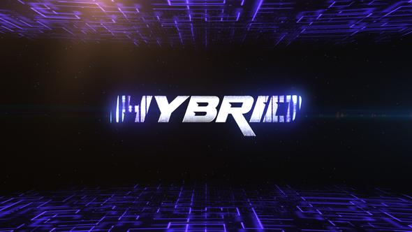 High Tech Logo Reveal