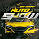 Flyer Auto Show - GraphicRiver Item for Sale