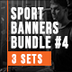 Sport Fitness Banners Bundle - GraphicRiver Item for Sale