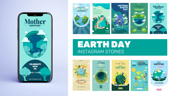 Mother Earth Day Instagram Stories B27