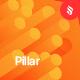Pillar - Gradient Motion Shape Backgrounds - GraphicRiver Item for Sale