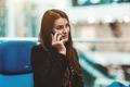Caucasian business lady phoning - PhotoDune Item for Sale