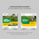 Lawn Services Social Media Post Banner Template - GraphicRiver Item for Sale