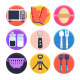 50 Kitchen Tools Icons - GraphicRiver Item for Sale