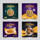 Ramadan Food Social Media Post Banner Template - GraphicRiver Item for Sale