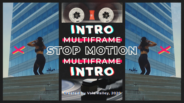 Stop Motion Multiframe Intro