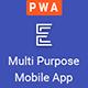 Ensign: Multi Purpose PWA Mobile App Template - ThemeForest Item for Sale
