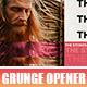 Grunge Opener - Music Festival - VideoHive Item for Sale