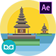 Indonesia Cities Animation | After Effects - VideoHive Item for Sale