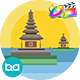 Indonesia Cities Animation | Apple Motion & FCPX - VideoHive Item for Sale